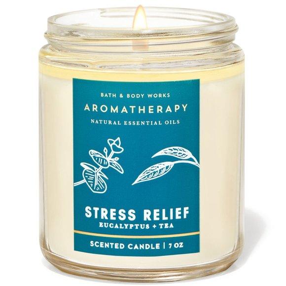 Bath & Body Works Eucalyptus + Tea Scented Candle